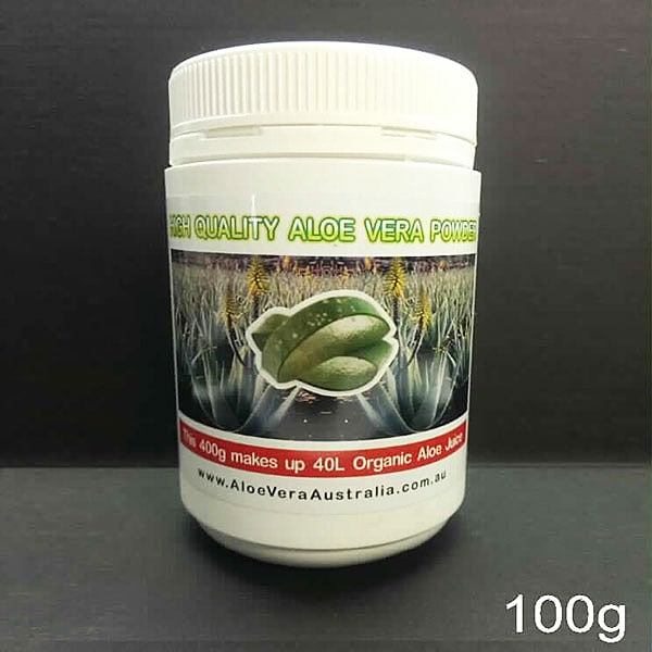 Premium Aloe Vera Powder 100g Makes 10 Lts Aloe Vera Health Drink