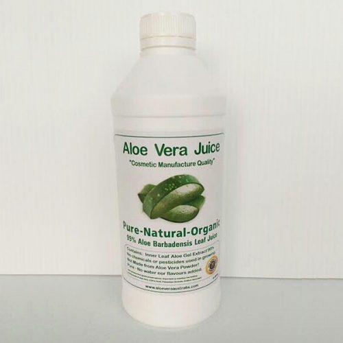 1 Litre Cosmetic Manufacture Aloe Juice