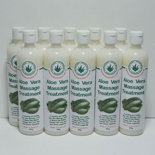 10 x 375g Aloe Massage Treatment (Pain Relief)