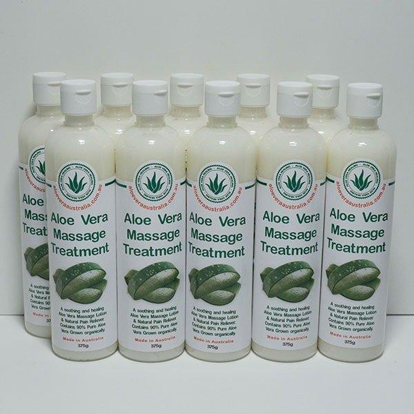 10 x 375g Aloe Massage Treatment (Pain Relief)
