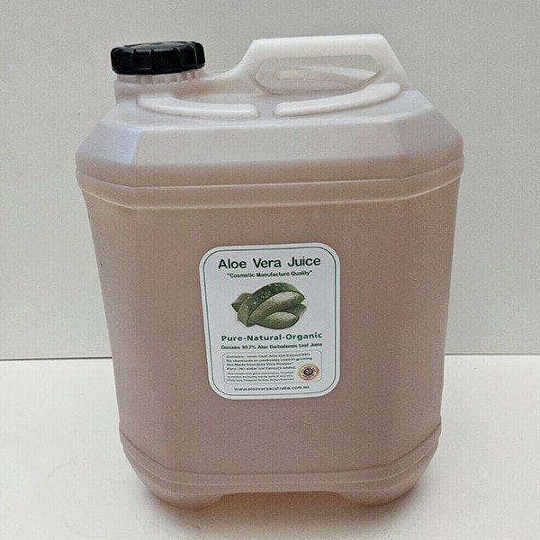 20 Litre Cosmetic Manufacture Aloe Inner Leaf Juice