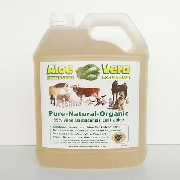 4 Litre Aloe Juice for Animals