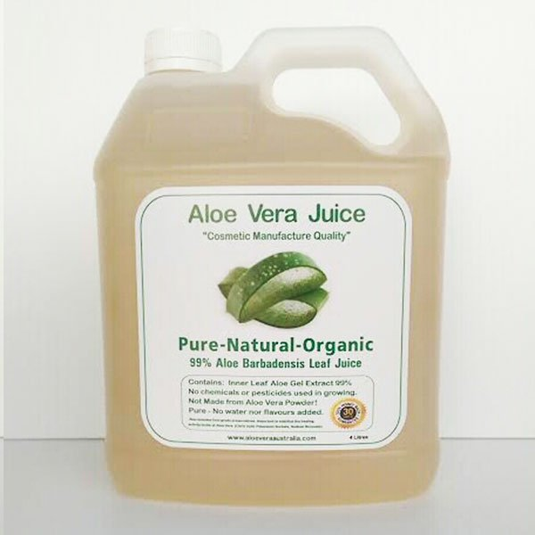 4 Litre Cosmetic Manufacture Aloe Juice
