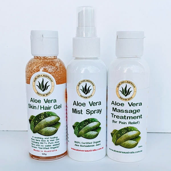 Aloe Skin Hair Gel Aloe Mist Spray Aloe Massage Treatment