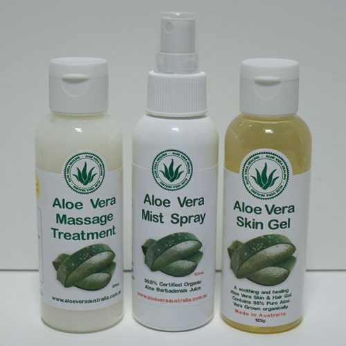 Aloe Skin / Hair Gel - Aloe Mist Spray - Aloe Massage Treatment