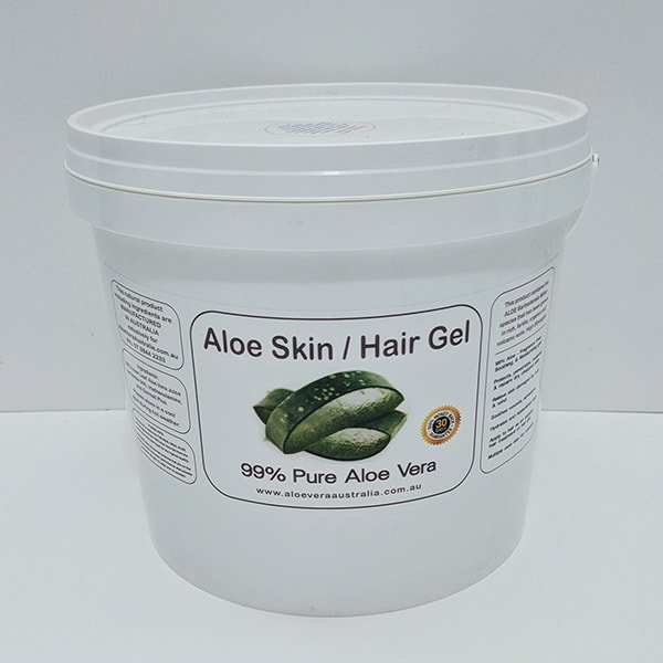 5KG Bulk Aloe Vera Skin / Hair Gel 99% PURE