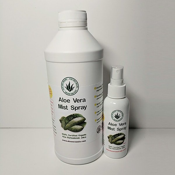 1Lt Aloe Mist Spray 3:1 Concentrate Refill Pack with Free 125ml