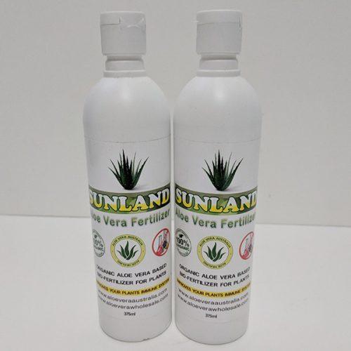 2 x 375 Aloe Vera Bio-Fertilizer