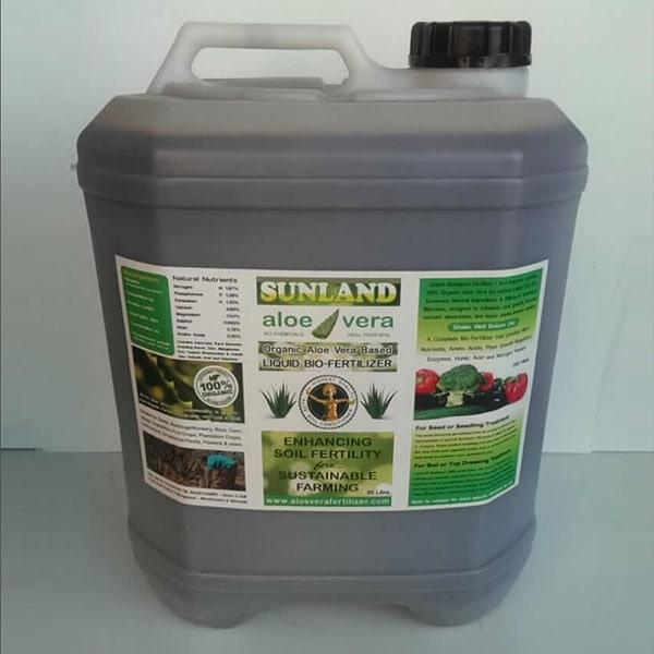 20 Litre Aloe Vera Bio-Fertilizer