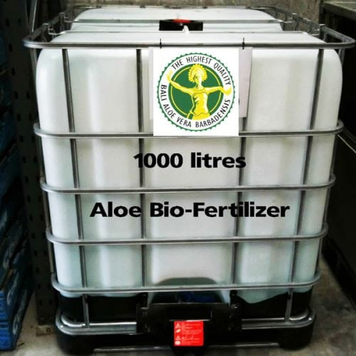 1000 IBC Litre Aloe Vera Bio-Fertilizer