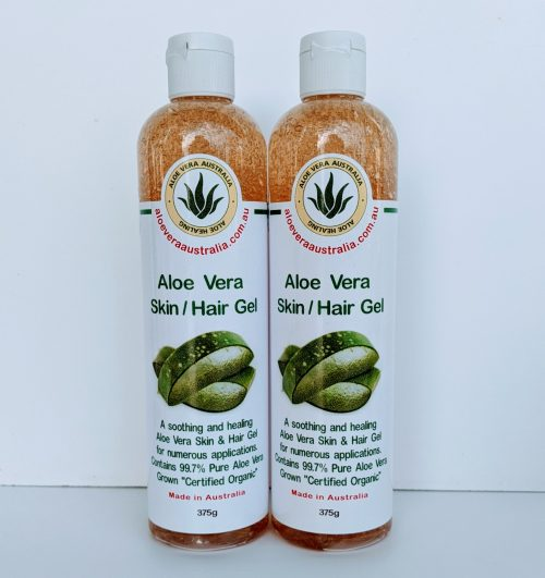 375g Aloe Vera Skin Hair Gel 99% PURE