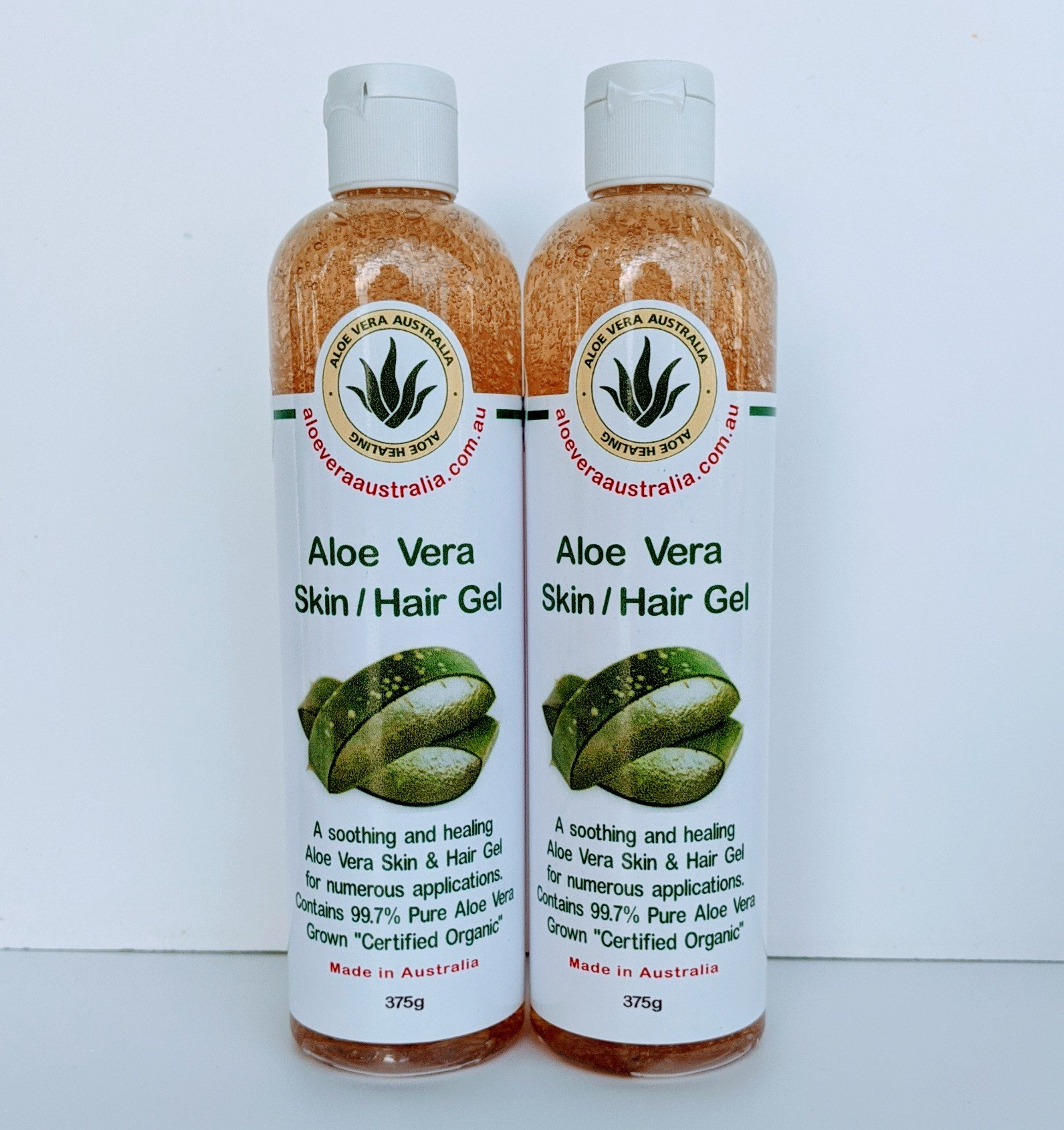 375g Aloe Vera Skin Hair Gel 99% PURE