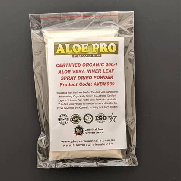 100g Organic Aloe Vera Powder 200:1