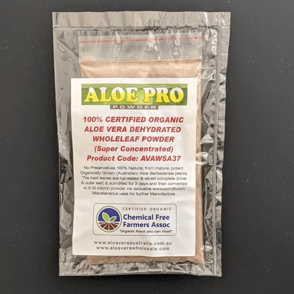 Aloe vera whole leaf powder 100gr(1)