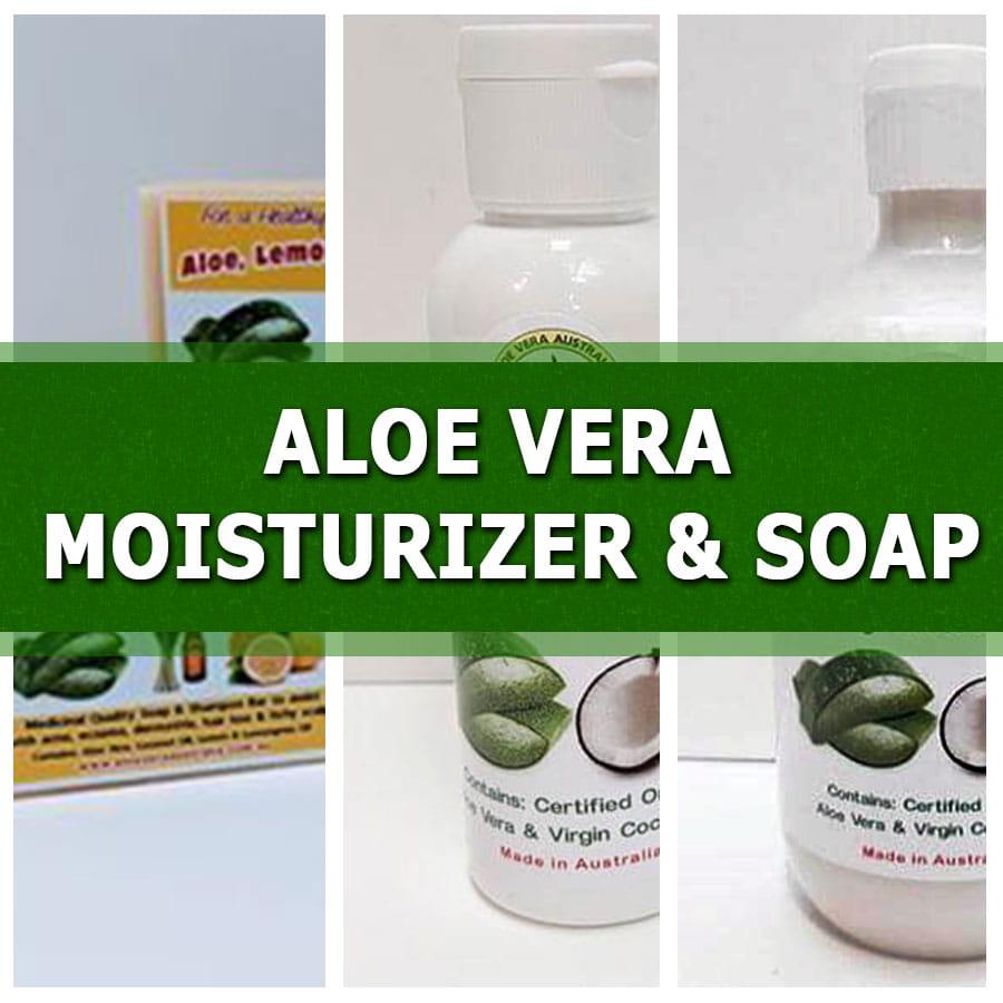 Aloe Vera Moisturizer & Soap