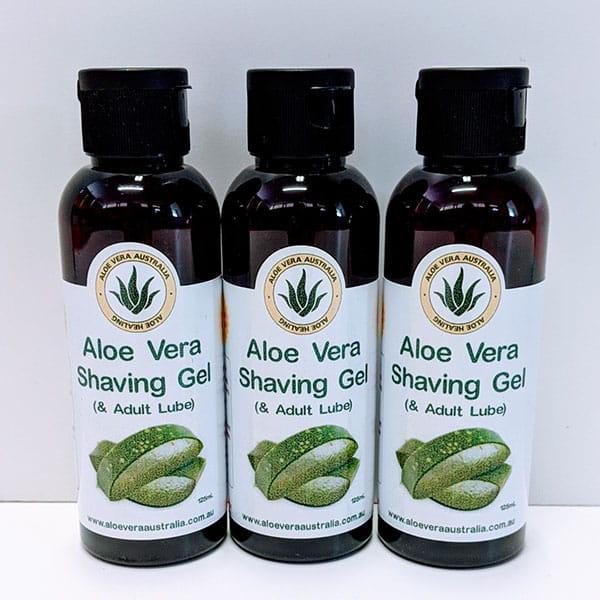 Aloe Vera Shaving Gel / Lube 3 x 125g